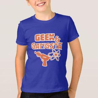 おもしろいなギークのギャングのサイファイの光線銃 Tシャツ