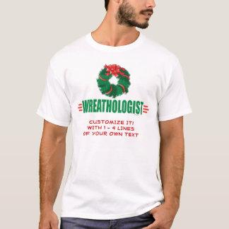 おもしろいなクリスマスのリース Tシャツ
