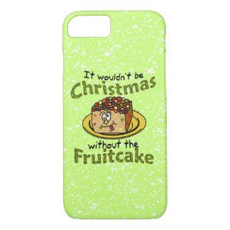 おもしろいなクリスマスの漫画のFruitcake iPhone 8/7ケース