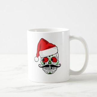 おもしろいなクリスマスの砂糖のスカル コーヒーマグカップ