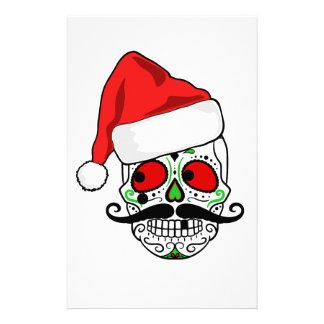 おもしろいなクリスマスの砂糖のスカル 便箋