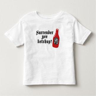 おもしろいなケチャップの海賊 トドラーTシャツ