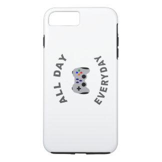 おもしろいなゲーマー終日の毎日R iPhone 8 PLUS/7 PLUSケース