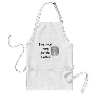 おもしろいなコーヒー恋人のエプロン スタンダードエプロン