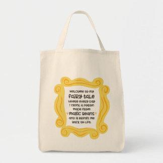 おもしろいなコーヒー戦闘状況表示板の魔法の豆の一服のおとぎ話 トートバッグ