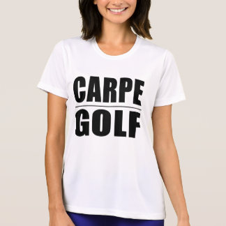 おもしろいなゴルファーの引用文の冗談: Carpeのゴルフ Tシャツ