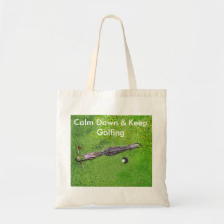 おもしろいなゴルフトートバックは、平静を保ちましたり及びゴルフをを保ちます トートバッグ