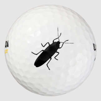おもしろいなゴルフ・ボールの昆虫の冗談 ゴルフボール