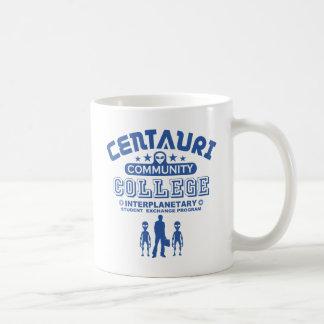 おもしろいなサイファイのCentauriコミュニティ・カレッジ コーヒーマグカップ