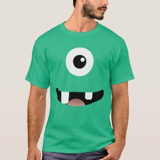 おもしろいなシクロプス片目モンスターのハロウィンの衣裳 Tシャツ