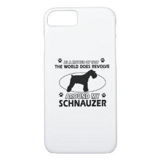 おもしろいなシュナウツァーのデザイン iPhone 8/7ケース