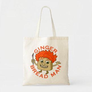おもしろいなショウガのパンの人のクリスマスのしゃれ トートバッグ