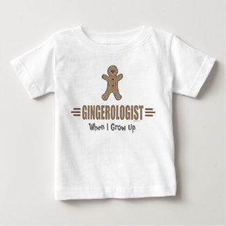 おもしろいなジンジャーブレッド ベビーTシャツ