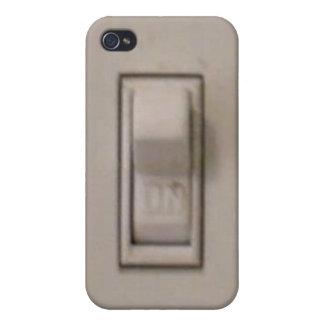 おもしろいなスイッチのiphone 4ケース iPhone 4 ケース