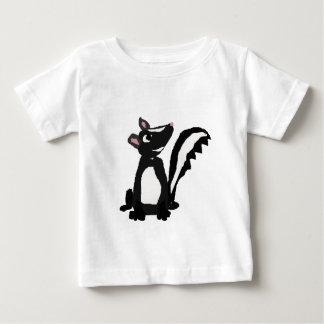 おもしろいなスカンクの原住民の芸術 ベビーTシャツ