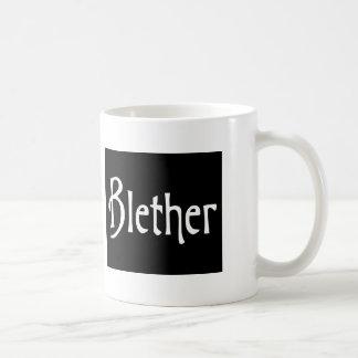 おもしろいなスコットランドの俗語Blether コーヒーマグカップ