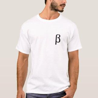おもしろいなスタイルのマスターのベータTシャツ Tシャツ