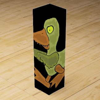おもしろいなゾンビのアヒル ワインギフトボックス