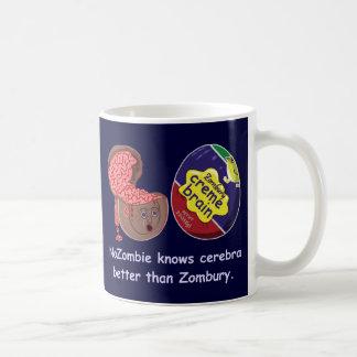 おもしろいなゾンビの頭脳キャンデー コーヒーマグカップ