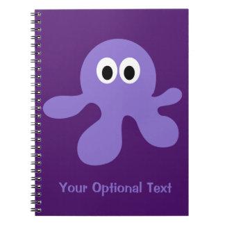 おもしろいなタコのカスタムのノート ノートブック