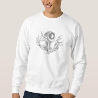 おもしろいなタコのTシャツのデザイン スウェットシャツ