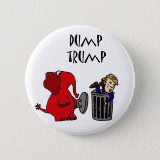 おもしろいなダンプの切札の政治漫画の芸術 5.7CM 丸型バッジ