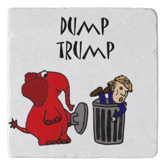 おもしろいなダンプの切札の政治漫画 トリベット