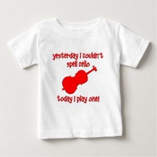 おもしろいなチェロ ベビーTシャツ