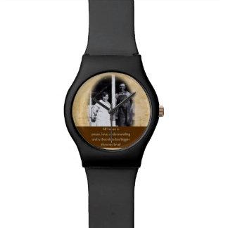 おもしろいなチョコレート引用文の腕時計 腕時計