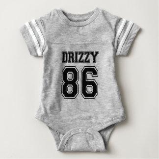 おもしろいなチームDrizzyのベビーのワイシャツ ベビーボディスーツ