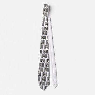 おもしろいなトラのバーコードのベクトル オリジナルネクタイ
