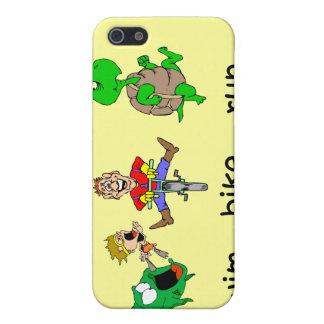 おもしろいなトライアスロン iPhone 5 ケース