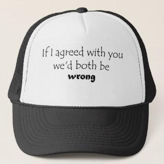おもしろいなトラック運転手の帽子はユニークなギフトのアイディア割引かさ張ります キャップ