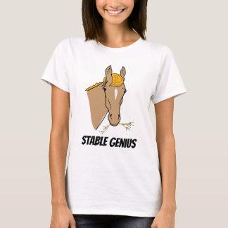 おもしろいなドナルド・トランプの安定した天才馬 Tシャツ