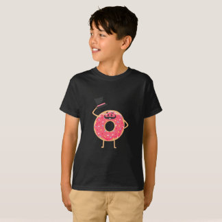 おもしろいなドーナツ Tシャツ