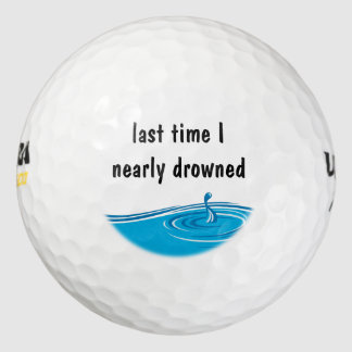 おもしろいなノベルティのゴルフ・ボール ゴルフボール