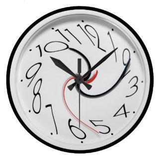 おもしろいなノベルティのスタイル ラージ壁時計