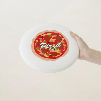 おもしろいなノベルティのpepperoniピザカスタムなフリズビーディスク Wham-Oフリスビー