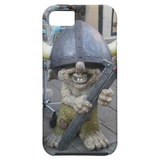 おもしろいなノルウェーの戦士のトロールのiPhone 5の場合 iPhone SE/5/5s ケース