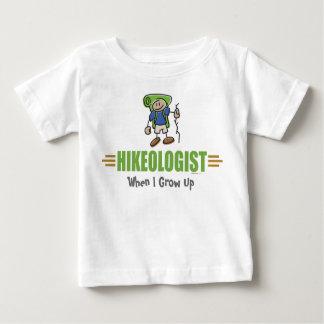 おもしろいなハイキング ベビーTシャツ