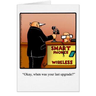 おもしろいなハッピーバースデーのユーモアの挨拶状 カード