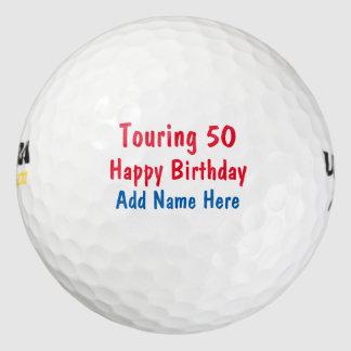 おもしろいなハッピーバースデー旅行 ゴルフボール