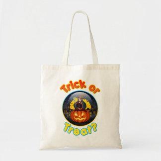 おもしろいなハロウィンの御馳走バッグ トートバッグ