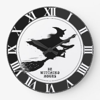 おもしろいなハロウィン ラージ壁時計