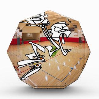 おもしろいなバスケットボールの印象 表彰盾