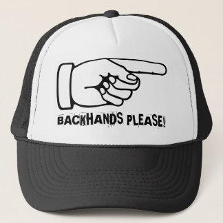 おもしろいなバックハンドを練習するテニスの帽子/帽子 キャップ