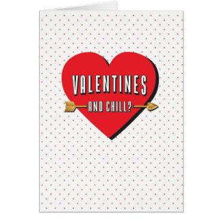 おもしろいなバレンタインカード カード