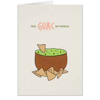 おもしろいなバレンタインデーカード|私の世界を揺すります カード