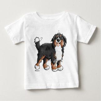 おもしろいなバーニーズ・マウンテン・ドッグの漫画 ベビーTシャツ