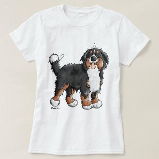 おもしろいなバーニーズ・マウンテン・ドッグの漫画 Tシャツ